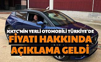 Kıbrıs'ın Yerli Otomobili Türkiye'de: İşte Özellikleri ve Fiyatı Hakkında Açıklama