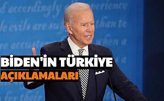 S400, Doğu Akdeniz... İşte Joe Biden'in Türkiye Hakkındaki Açıklamaları