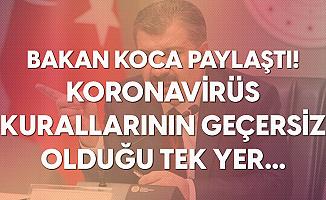Sağlık Bakanı Fahrettin Koca: Koronavirüse Karşı Kuralların Geçersiz Olduğu Tek Yer...