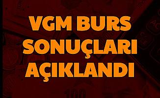 VGM Burs Başvuru Sonuçları Açıklandı-İşte Sonuç Sorgulama Sayfası