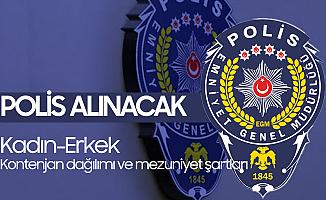 8 Bin Polis Alımı Başvuru İşlemleri 21 Aralık'ta Sona Erecek