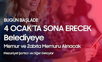 Beyoğlu Belediyesi Memur ve Zabıta Memuru Alımı Başvuruları Başladı