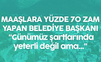 CHP'li Belediye İşçilerin Maaşlarına %70 Zam Yaptı