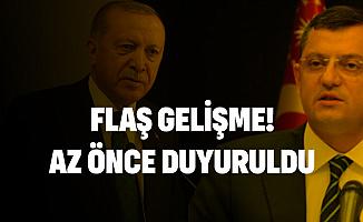 Cumhurbaşkanı Erdoğan'a Yönelik Sözleri Nedeniyle CHP'li Özgür Özel Hakkında Dava Açıldı