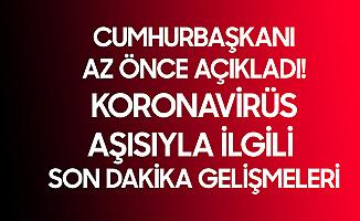 Cumhurbaşkanı Erdoğan'dan Koronavirüs Aşısı ve Normalleşme Sürecine İlişkin Açıklama