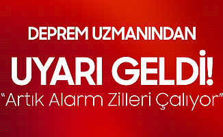 Deprem Uzmanı Prof. Dr. Pampal'dan 7 ve 7'nin Üzerinde Deprem Uyarısı : Alarm Zilleri Çalıyor!