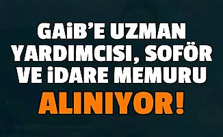 Güneydoğu Anadolu İhracatçı Birlikleri'ne Uzman Yardımcısı, İdare Memuru ve Şoför Alımı