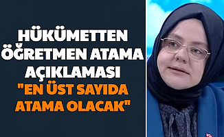 """Hükümetten 2021 Öğretmen Atama Açıklaması: """"En Üst Sayıda Öğretmen Ataması Yapılacak"""""""