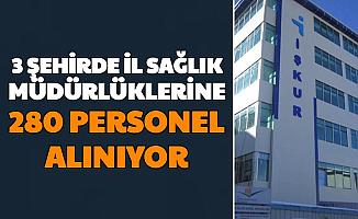 İl Sağlık Müdürlüklerine Sınavsız 280 Personel Alımı-İşte İŞKUR TYP Başvurusu
