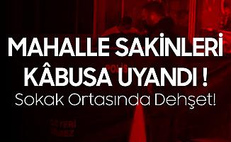 İzmir'de Sokak Ortasında Dehşet! Babasını Sopayla Döverek Öldürdü
