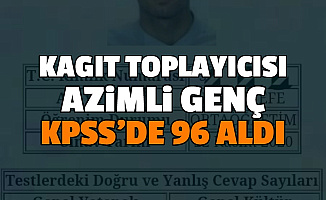Kağıt Toplayıcısı Hakan Efe, KPSS'de 96 Aldı: KPSS'ye Nasıl Hazırlandığını Anlattı