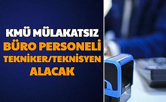 Karamanoğlu Mehmetbey Üniversitesi Mülakatsız Büro Personeli ve Teknik Personel Alımı Yapıyor