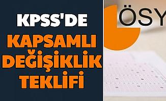 KPSS'de Köklü Değişiklik Teklifi (Önlisans Ortaöğretim Sınavları Her Sene mi Yapılacak?)