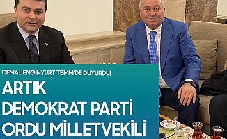 Ordu Milletvekili Cemal Enginyurt Demokrat Parti'ye Geçti