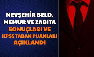 Nevşehir Belediyesi Memur ve Zabıta Alımı Başvuru Sonuçları Açıklandı-İşte KPSS Taban Puanları