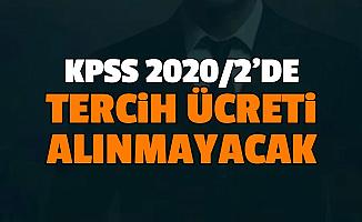 ÖSYM, KPSS 2020/2 Memur Alımında Tercih Ücreti Almayacak