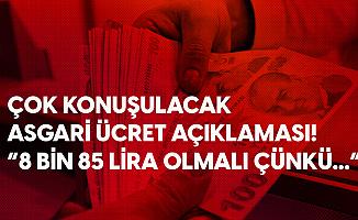 Saadet Partisi'nden Flaş Asgari Ücret Teklifi: Hedef 8 Bin 85 Lira Olmalıdır