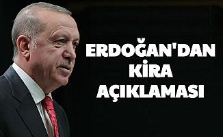 Son Dakika: Cumhurbaşkanı Erdoğan'dan Kira Yardımı Açıklaması: 1000 TL Hibe Verilecek