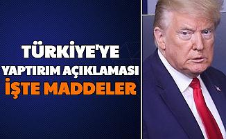 Son Dakika: İşte ABD'nin Türkiye Yaptırımları (CAATSA Nedir İşte Maddeleri)