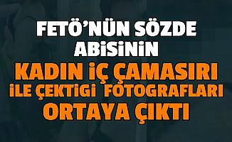 Sözde FETÖ Abisinin Kadın İç Çamaşırı ile Çektiği Çıplak Selfie Görüntüleri Ortaya Çıktı