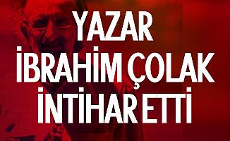 Twitter'da Taciz İddialarından Sonra Yazar İbrahim Çolak İntihar Etti