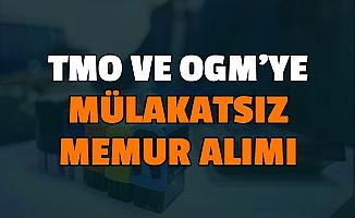 4500 Lira Maaş: OGM ve TMO'ya En Az Ortaöğretim Mezunu Mülakatsız Memur Alımı