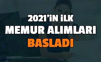 4-5 Bin Lira Maaşla Memur Alımı: 2021'in İlk Kamu Personel Alımı İlanlarına Başvurular Başladı