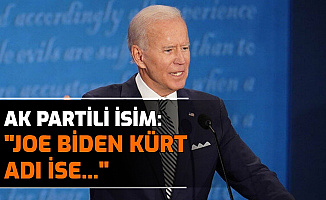 "AK Partili Miroğlu: ""Joe Biden Kürt Gerçek Adı Cimoye Bahattin Ağa"""
