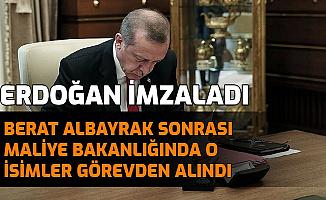 Berat Albayrak Sonrası Erdoğan, Maliye Bakanlığında 2 İsmi Görevden Aldı