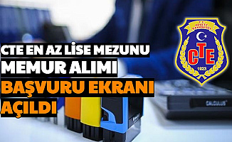 CTE En Az Lise Mezunu Memur Alımı Başvurusu e Devlet'te Başladı (Katip ve Öğretmen Alımı)