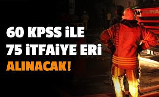 Diyarbakır Büyükşehir Belediyesi 60 KPSS ile Memur Alımı Yapacak-İşte 75 İtfaiye Eri Alımı Başvurusu