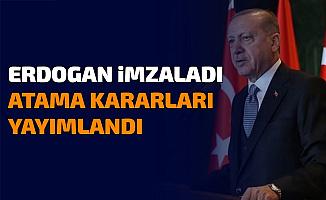 Erdoğan İmzaladı: Kamuda Atama Kararnamesi Yayımlandı