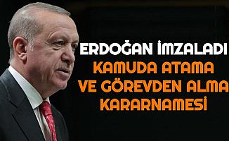 Erdoğan İmzaladı: Kamuda Atama ve Görevden Alma Kararnamesi Yayımlandı