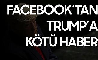 Facebook ve İnstagram'dan Trump'a Kötü Haber! 24 Saat Engellendi...