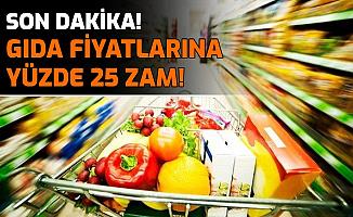 Gıda Fiyatlarına Yüzde 25 Zam: İşte Nedenleri