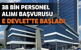 İŞKUR Açıkladı: 38 Bin Personel Alımı Başvurusu E Devlet'ten Başladı