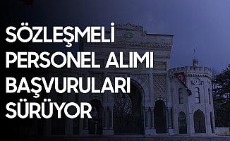 İstanbul Üniversitesi'ne Sözleşmeli Sağlık Personeli Alımı Başvuruları Sürüyor