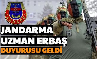 Jandarma Duyurdu: 2021'in İlk Uzman Erbaş Atama Duyurusu Yayımlandı