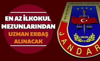 Jandarma En Az İlkokul Mezunu Uzman Erbaş Alımı Yapacak (5 Bin Sözleşmeli Uzman Çavuş 2021 Başvuru Formu Şartları)