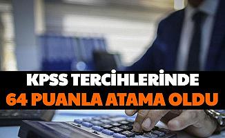 KPSS 2020/2 Memur Alımı Taban Tavan Puanları Belli Oldu: 64 KPSS ile O Kadroya Atama Oldu
