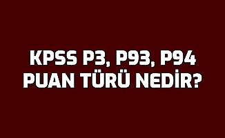 KPSS P3 , P93 , P94 Nedir? Ne Anlama Geliyor?