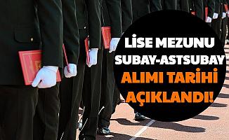 Lise Mezunu Subay Astsubaylık Başvuru ve Sınav Tarihi Açıklandı-İşte MSÜ 2021 Askeri Öğrenci Alımı Tarihi