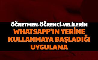 Öğretmenler, Veliler ve Öğrenciler WhatsApp'ın Yerine Bu Uygulamaya Geçiyor