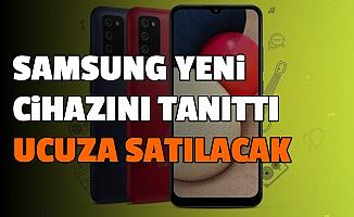 Samsung'dan Ucuza Yüksek Batarya Kapasiteli Galaxy M02s-İşte Fiyatı ve Özellikleri