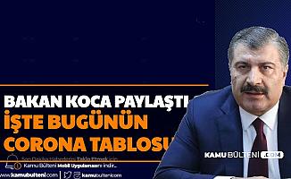 Son Dakika 8 Ocak 2021 Koronavirüs Tablosu Yayımlandı-İşte Türkiye Covid 19 Vaka Sayısı