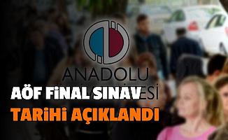 Son Dakika: AÖF Dönem Sonu Sınav (Final) Tarihleri Açıklandı