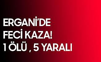 Son Dakika: Diyarbakır Ergani'de Feci Kaza: 1 Ölü, 5 Yaralı