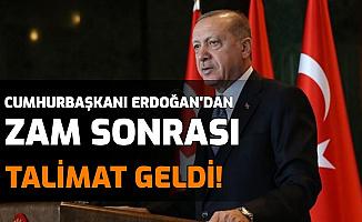 Son Dakika: Erdoğan'dan Gıda Zamları Talimatı