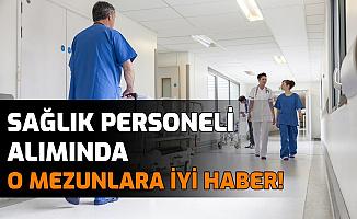 Son Dakika: Sağlık Bakanlığı Personel Alımında İyi Haber!