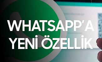 Tartışmaların Odağındaki Whatsapp'a Yeni Özellik